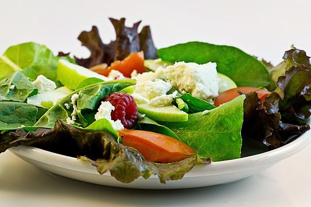 Abnehmen mit Salat